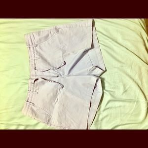 Light blue Lee shorts